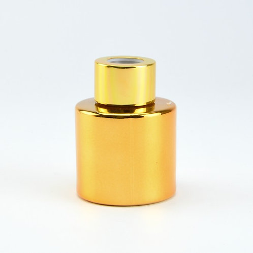 Gouden geurflesjes incl. 5 geurstokjes