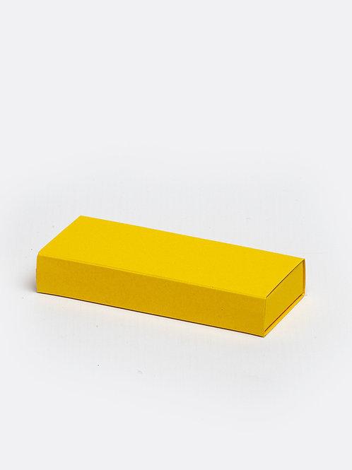 Schuifdoosje karton - oker