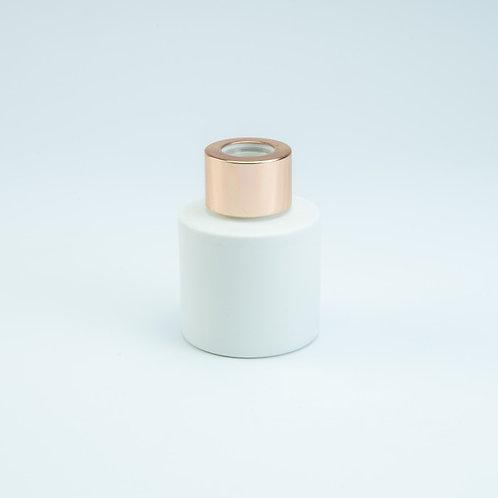 Witte geurflesjes incl. 5 geurstokjes