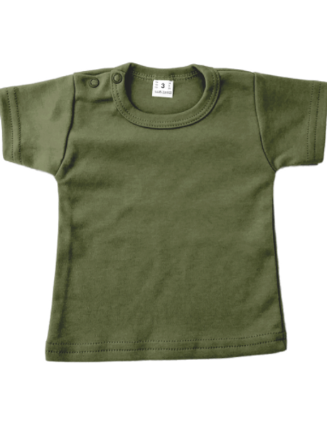 T-shirt korte mouw - khaki