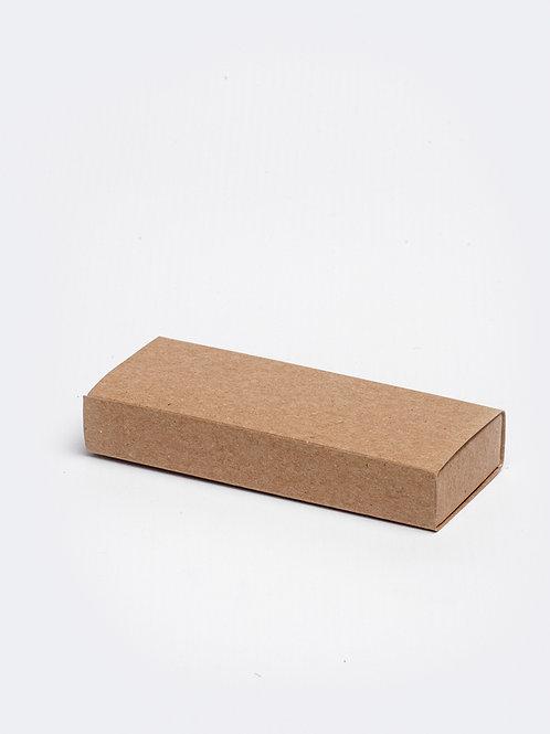 Schuifdoosje karton - kraft