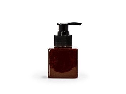 Zeeppompje kubus amber - 90 ml