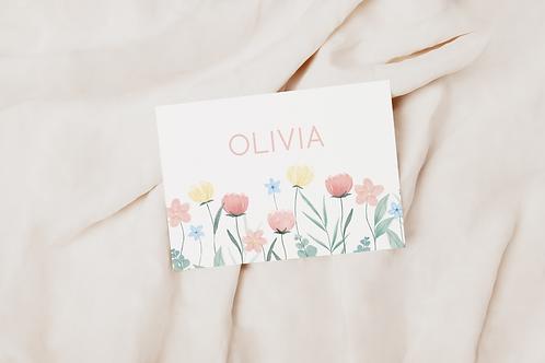 Collectiekaart Olivia