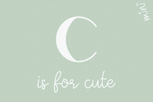 CUTE love letter - Mad about mats