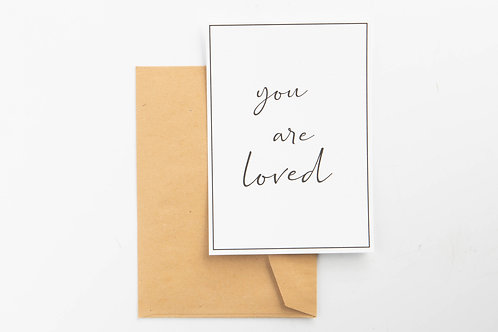Wenskaart - You are loved