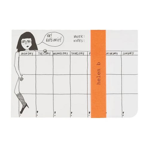 Weekplanner Pin up- Helen B