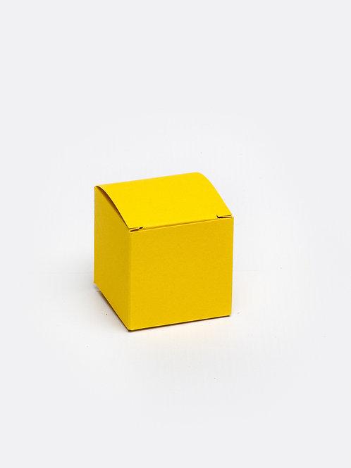 Kubus in karton - oker