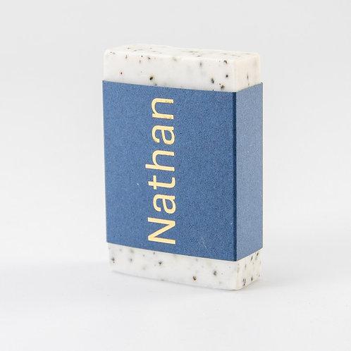 Wikkel soap bar - koningsblauw