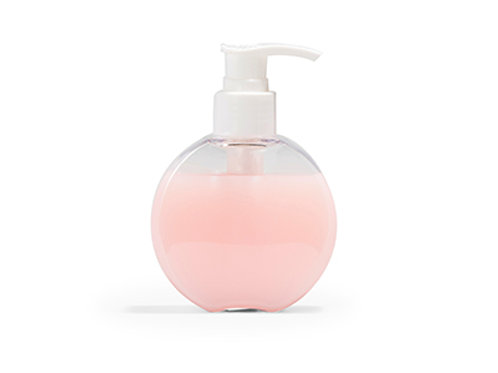 Zeeppompje schijf transparant - 140 ml