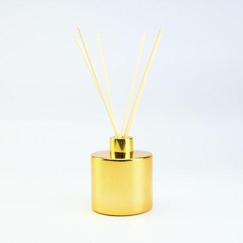 Groot gouden geurflesje incl. 5 geurstokjes