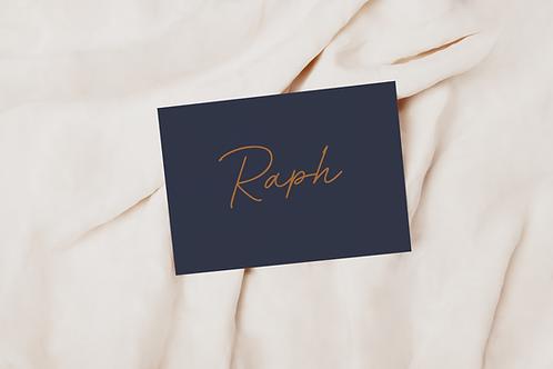 Collectiekaart Raph