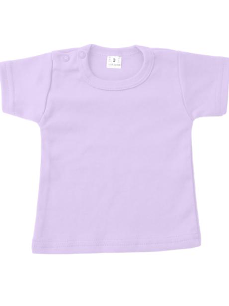 T-shirt korte mouw - lila