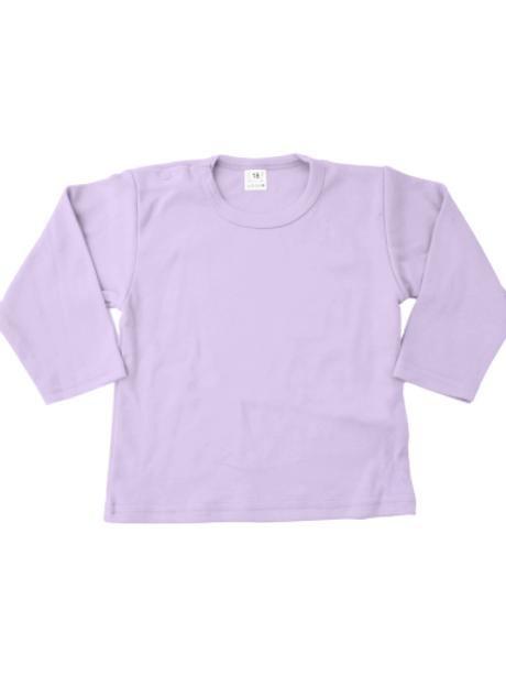 T-shirt lange mouw - lila
