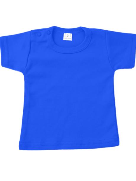 T-shirt korte mouw - royal blue