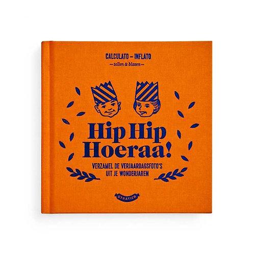 Hip hip hoera, 25 jaar plezier - invulboek stratier