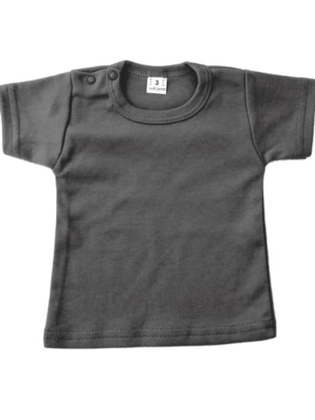 T-shirt korte mouw - antraciet
