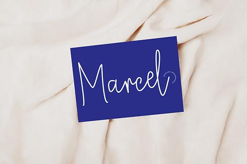 Collectiekaart Marcel