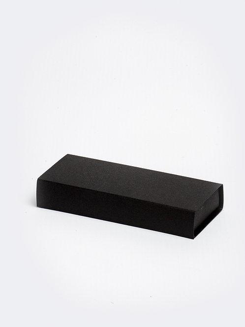 Schuifdoosje karton - zwart