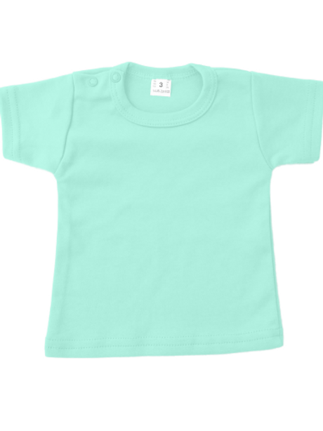 T-shirt korte mouw - mint