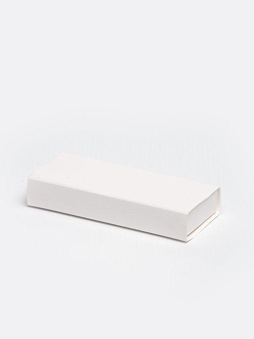 Schuifdoosje karton - wit