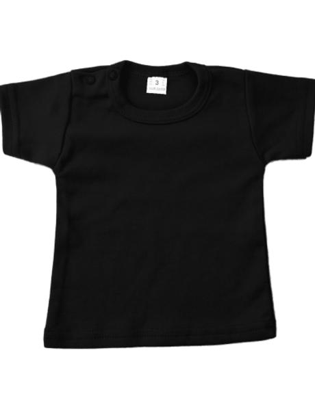 T-shirt korte mouw - zwart