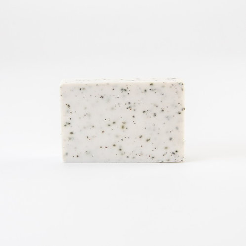 Soap bar - wit gespikkeld