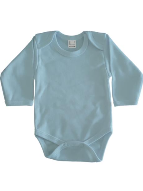 Rompertje lange mouw - babyblauw