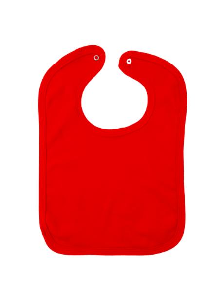 Slabbetje rood