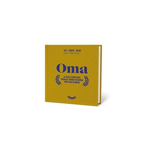 Oma - invulboek stratier