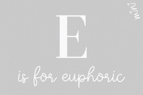 EUPHORIC love letter - Mad about mats