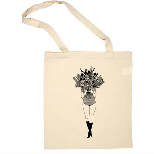 Tote bag Flower Girl - Helen B