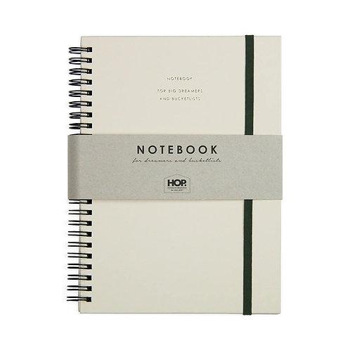 Notebook - sand