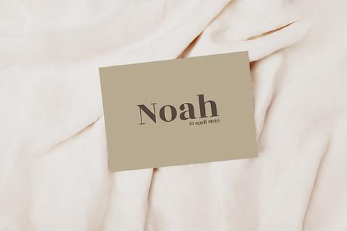 Collectiekaart Noah