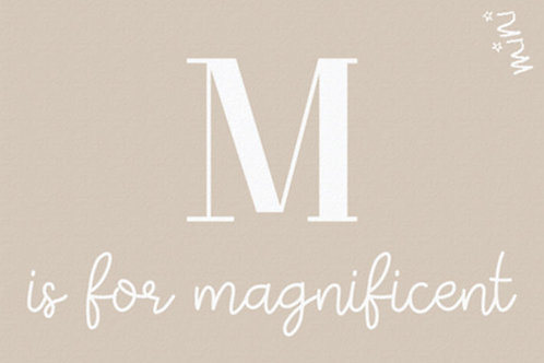 MAGNIFICE love letter - Mad about mats