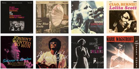 visuels de vinyles