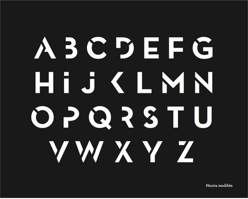 création d'alphabet