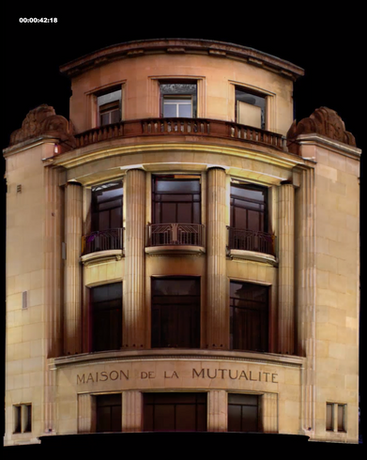 Maison de la Mutualité 1930 - construction