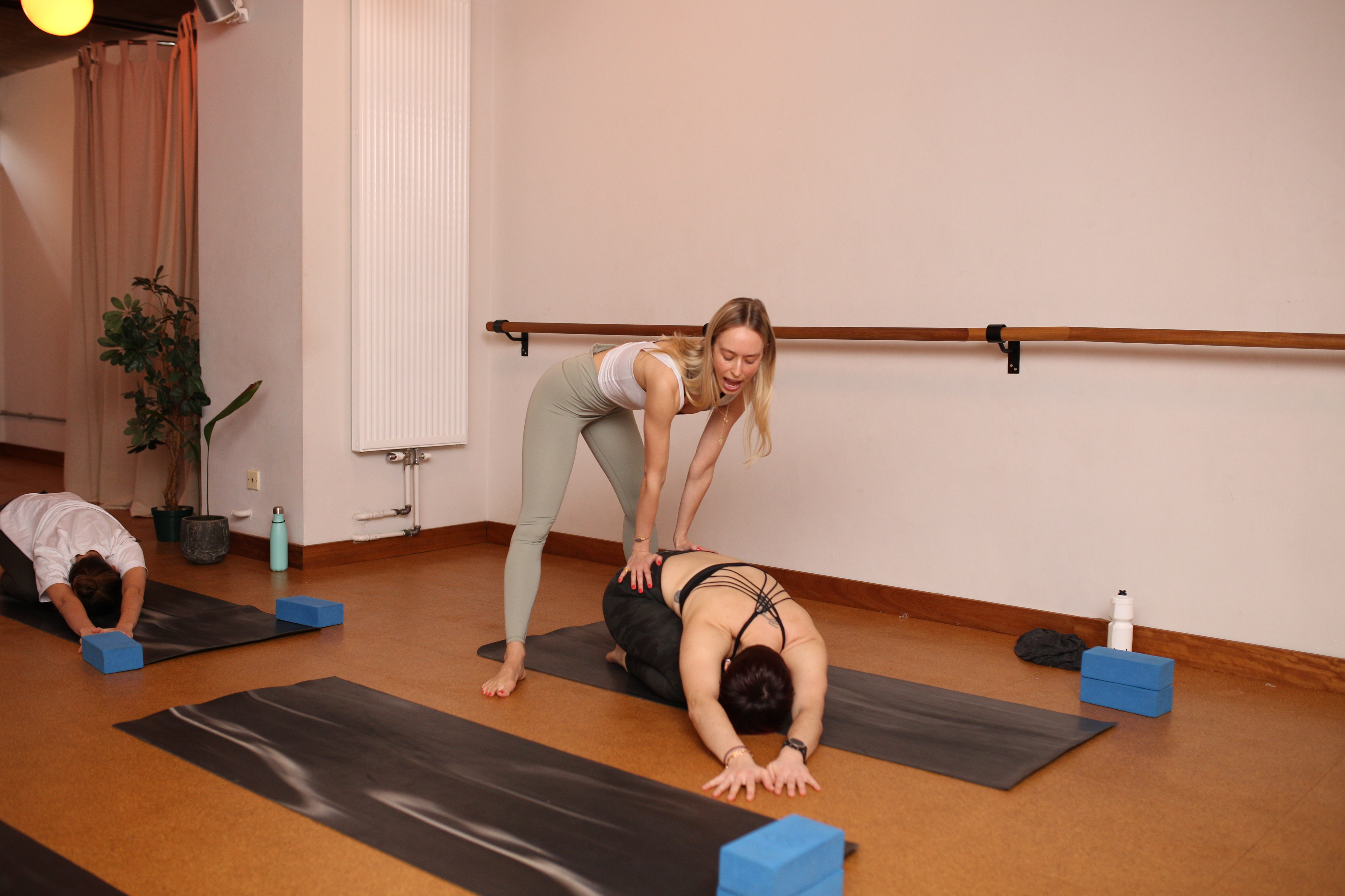 Benk and Bo yoga brunch