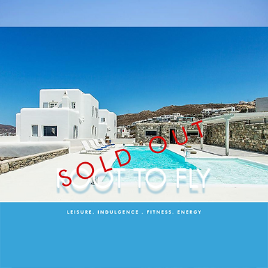 Postponed - Root To Fly, Luxury Villa Yoga Retreat - Mykonos 2020