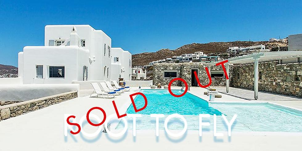 Postponed - Root To Fly, Luxury Villa Yoga Retreat - Mykonos 2020
