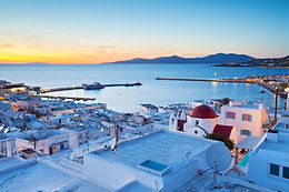 July Mediteranean Getaway To Mykonos