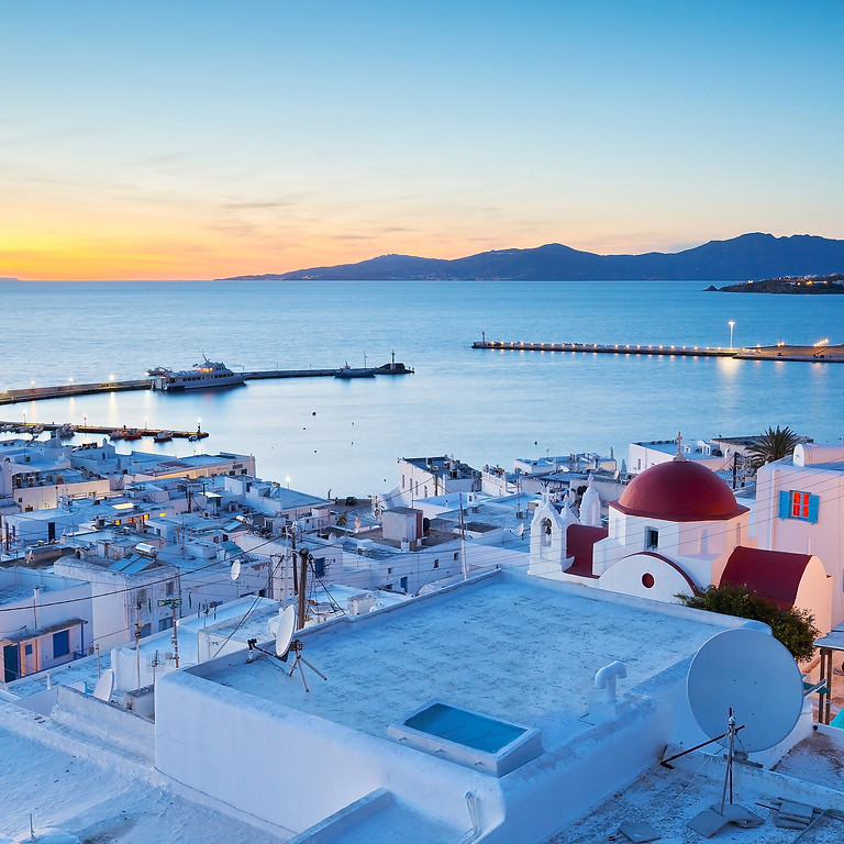 July Mediterranean Getaway To Mykonos
