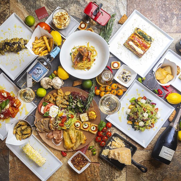 Retreats Kitchen, Italian Inspired Al fresco Menu