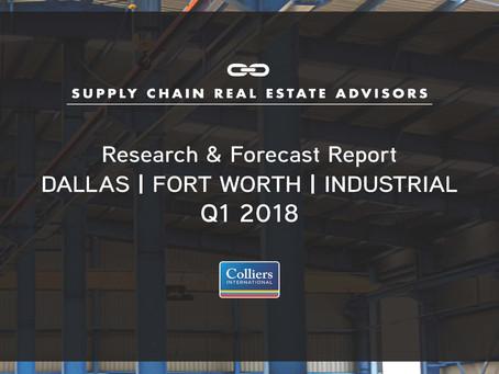 Q1 2018 DFW - Industrial Market Report