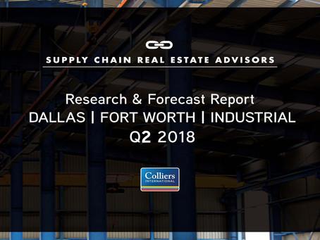 Q2 2018 DFW- Industrial Market Report