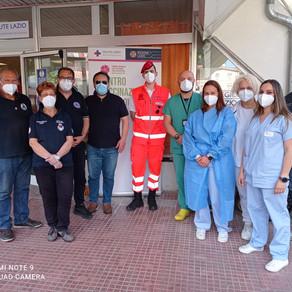Assessore Milani visita il Centro Vaccinale di via Trapani