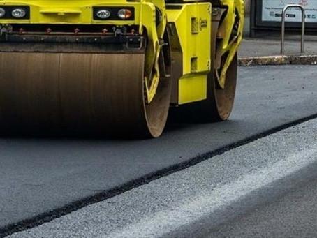 Prosegue l'asfaltatura delle strade