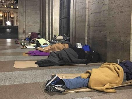 Il Comune vara il piano per aiutare i senzatetto in vista dell'arrivo dell'ondata di gelo