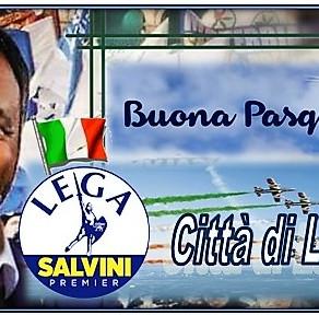 Auguri per una serena Pasqua dal gruppo politico Lega per Salvini Premier - Ladispoli.