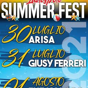 SUMMER FEST 2021, STASERA IL CONCERTO DI ARISA
